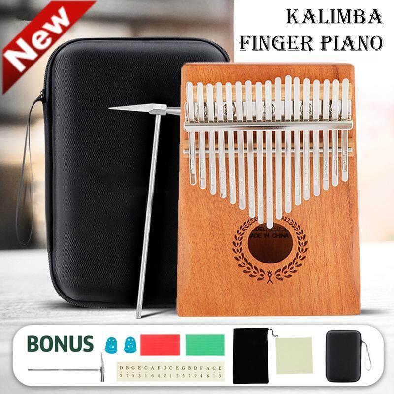 Dễ Dàng Mang Theo Đàn Kalimba 10 X 17key Chất Lượng Cao Đàn Piano Ngón Tay Chuyên Nghiệp Âm Nhạc Marimba