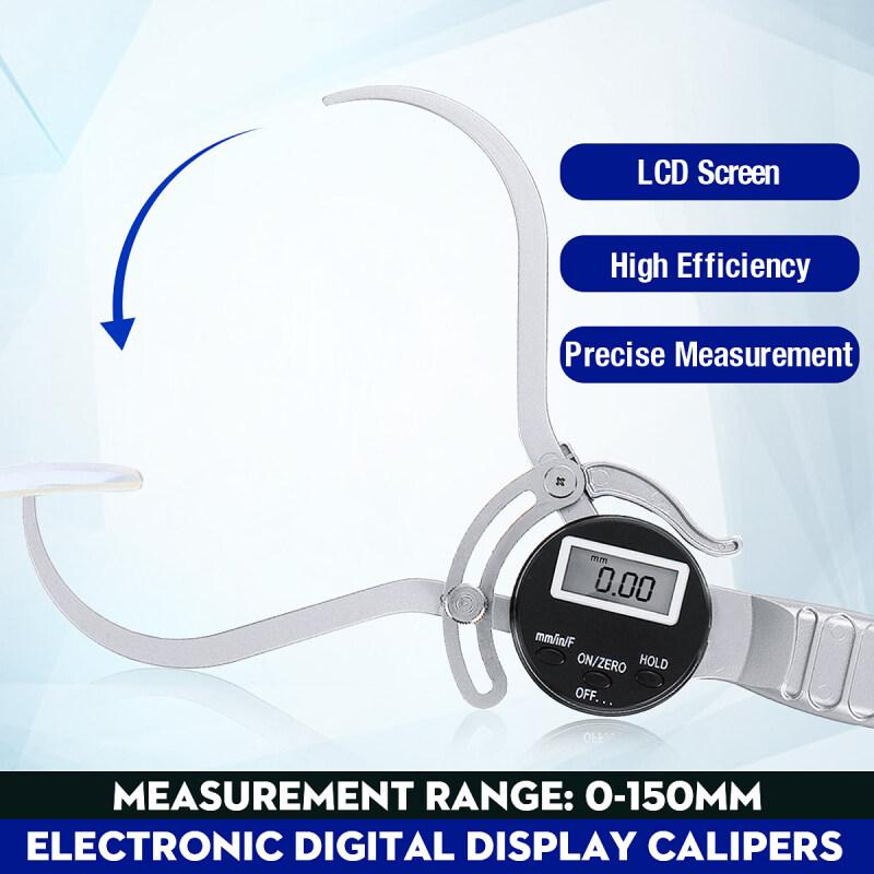 0-150mm LCD External Caliper Handheld Outside Gauge Diameter Tool For Measuring