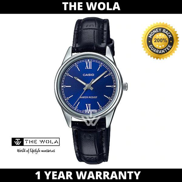 (100% Original CASIO) CASIO Women Casual Watch LTP-V005L-2BUDF (watch for women / jam tangan wanita / Casio watch for women / Casio watch / women watch) Malaysia