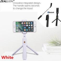 Zeallion Tripod Nối Dài Đứng Ảnh Tự Sướng Stick Bluetooth Cầm Tay Điều Khiển Từ Xa Không Dây Cho iPhone Samsung Huawei Oppo Vivo Realme Xách Tay Điều Chỉnh Được Kích Cỡ Nhỏ Tripod Hãy Shoot Hình Video Trực Tiếp