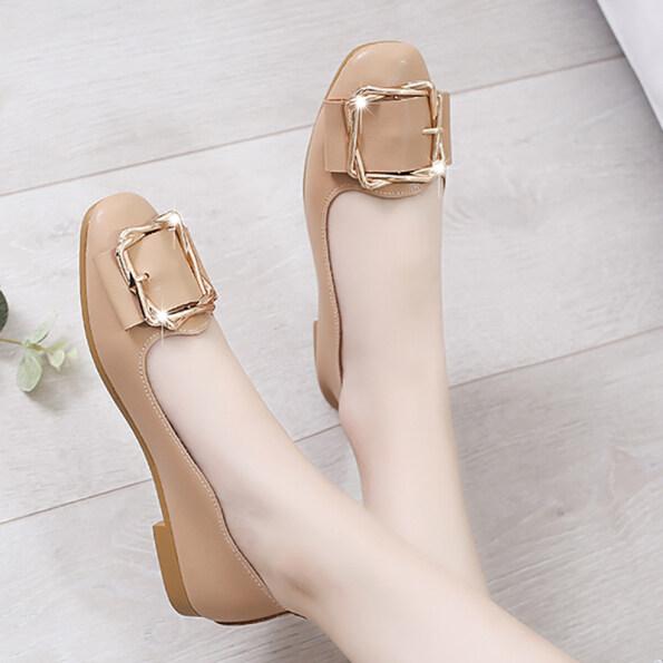 Los Boutique Cao Quý Giày Lười Nữ Giày Đế Casual Trang Phục Đường Phố Giày Lười 2020 Hàng Mới Về Giày Nữ giá rẻ