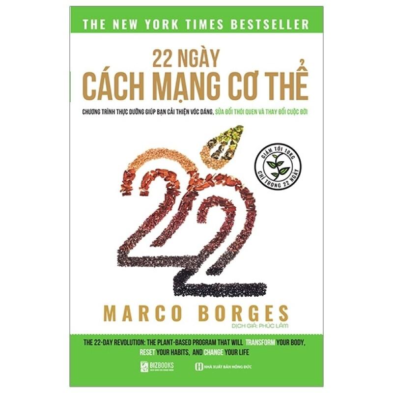 Bizbooks - Sách - 22 Ngày Cách Mạng Cơ Thể