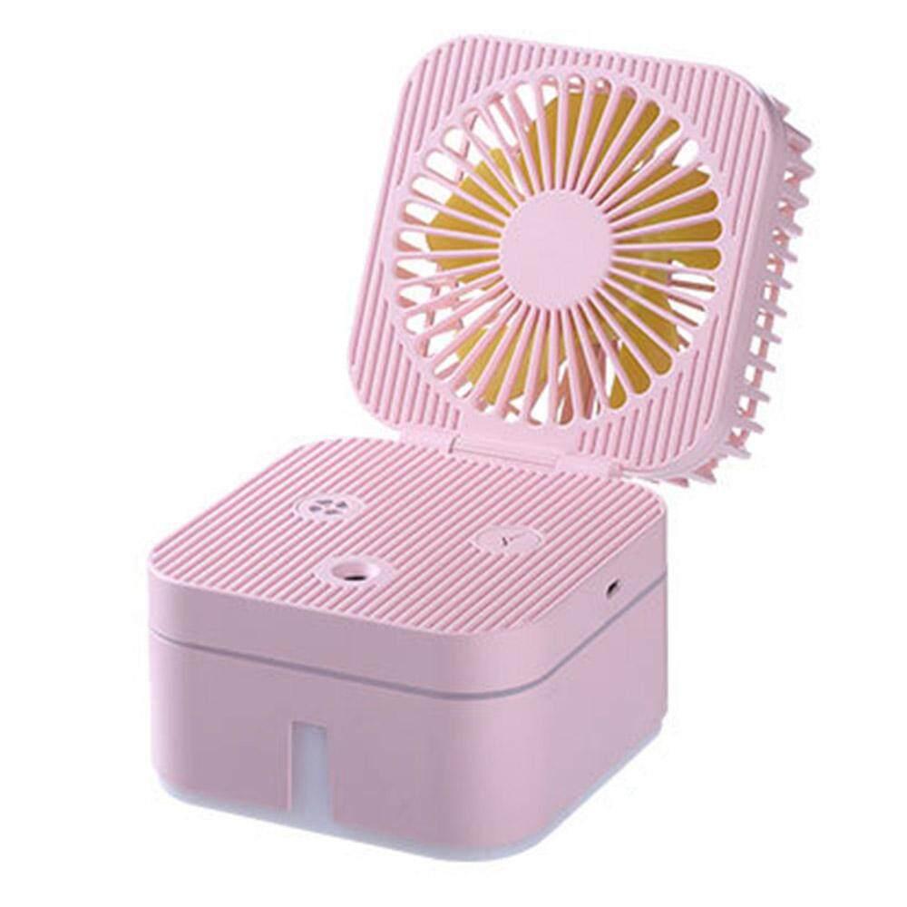 Bảng giá [[Comebuy88] 2 trong 1 Mini Di Động USB Quạt Tạo Ẩm Phun Nhỏ Bàn Làm Việc Người Hâm Mộ Phong Vũ