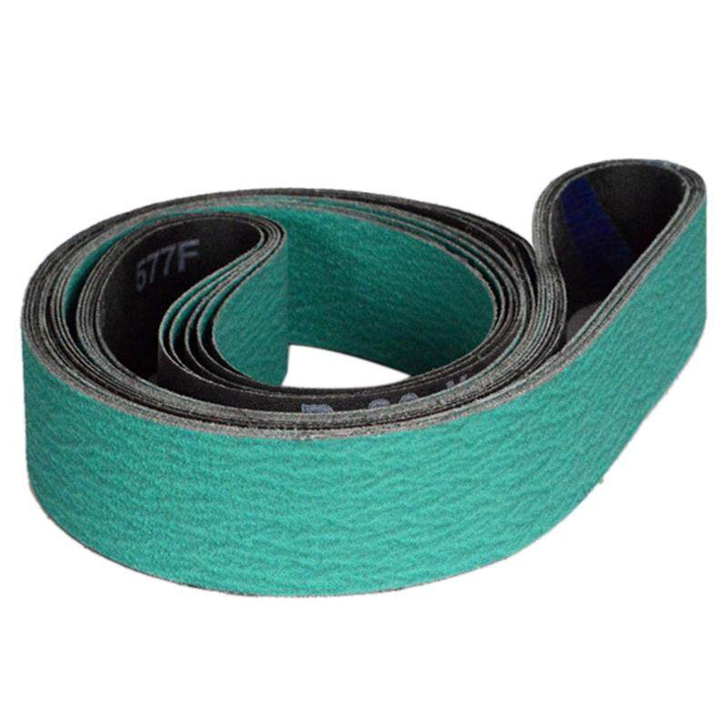 4 Pieces 1600x50mm Z/A 577F Sanding Bands Hard Metal Grinding Belts 40 60 80 120 Assorted