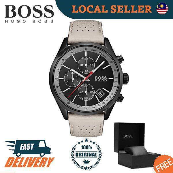 [Authentic] Hugo Boss Contemporary Sport Grand Prix Men Watch 1513562 Jam Tangan Lelaki Malaysia
