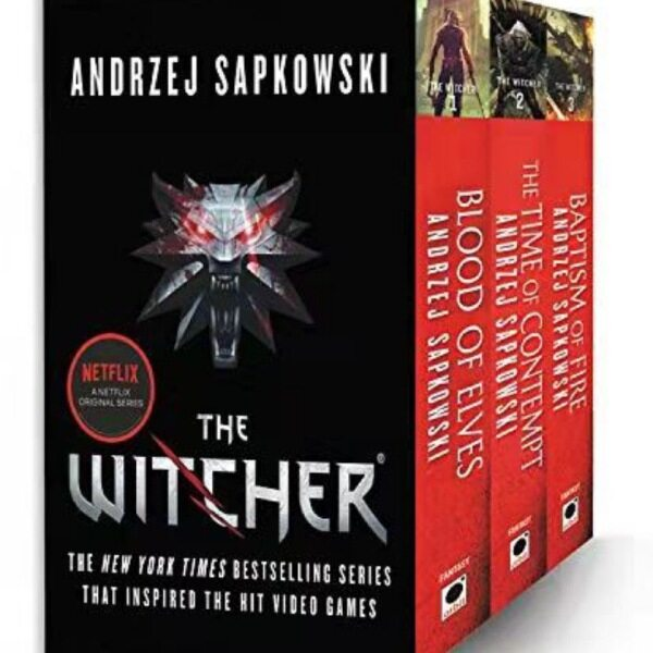 The Witcher Boxed Set 3 books Malaysia
