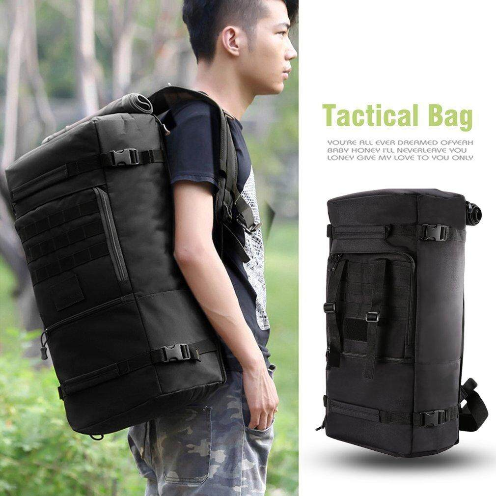Elec 60l Large Capacity Outdoor Sports Backpack Multifunctional Tactical Bag Unisex Hiking Climbing Backpack Oxford Cloth Knapsack - Intl By Electron3c.