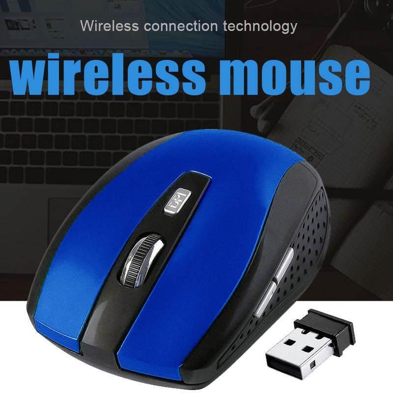 Chuột Quang Không Dây 2.4GHz Với Bộ Thu USB 2.0 Cho Máy Tính Laptop Khuyến Mãi Sốc