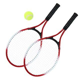 2 Cái Vợt Tennis Cho Trẻ Em Vợt Tennis Với 1 Quả Bóng Tennis Và Túi Bọc thumbnail