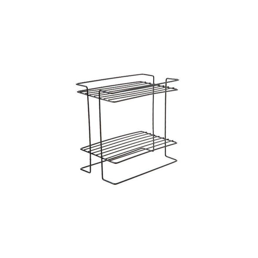 ANEXT Iron kitchen double-layer spice rack rack