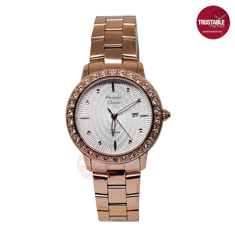 Alexander Christie Jam Tangan Fashion Casual Women Original Gold Pria Alexandre 6441 Rose Couple The Best Prices Online In Malaysia Iprice Source Ac2688ld Passion Crystal Stone Ladies Analog Watch 100