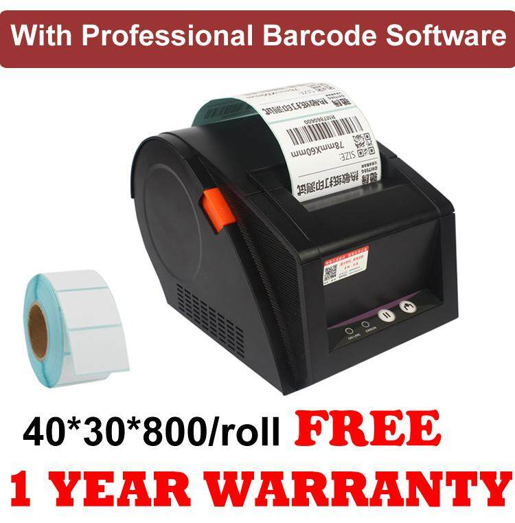 Ssm With Professional Software 3 Inch Barcode Printer Thermal Printer Sku Sticker Label Printer Gprinter 3120tu By Super Smart Mobile.