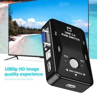 Bộ Chuyển Đổi USB HDMI KVM Đa Chức Năng Bộ Chia Cổng VGA 2 Trong 1 Ra Chất Lượng Cao thumbnail
