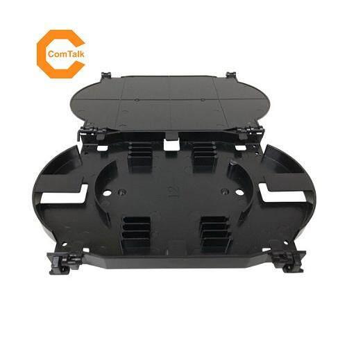 Dintek 12 Core Fiber Optic Splice Tray (Black)