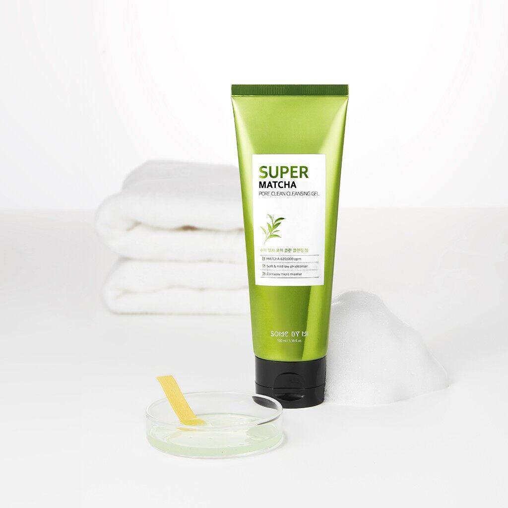 SOME BY MI]Super Matcha Pore Clean Cleansing Gel 100ml | Lazada Singapore