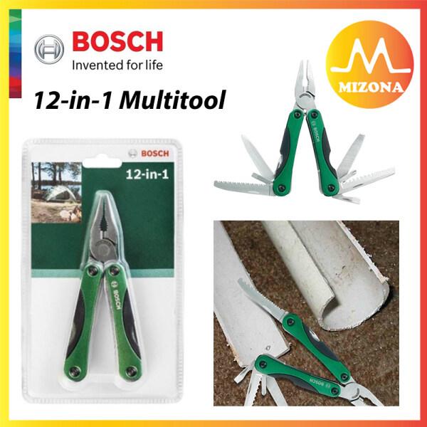 MIZONA BOSCH Multifunctional 12-in-1 Multitool Knive Saw Opener Screwdriver Wire Cutter - 2609256D91