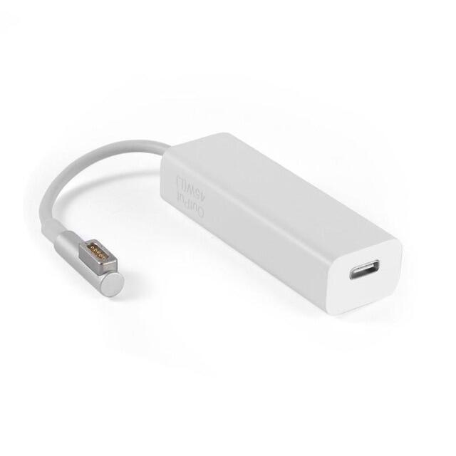 Bộ Chuyển Đổi Dây Cáp Cái USB 3.1 Loại C Sang Magsafe 2 5 Chân Thích Hợp Cho Máy Tính Xách Tay Điện Thoại Thông Minh, Với USB-C Cổng