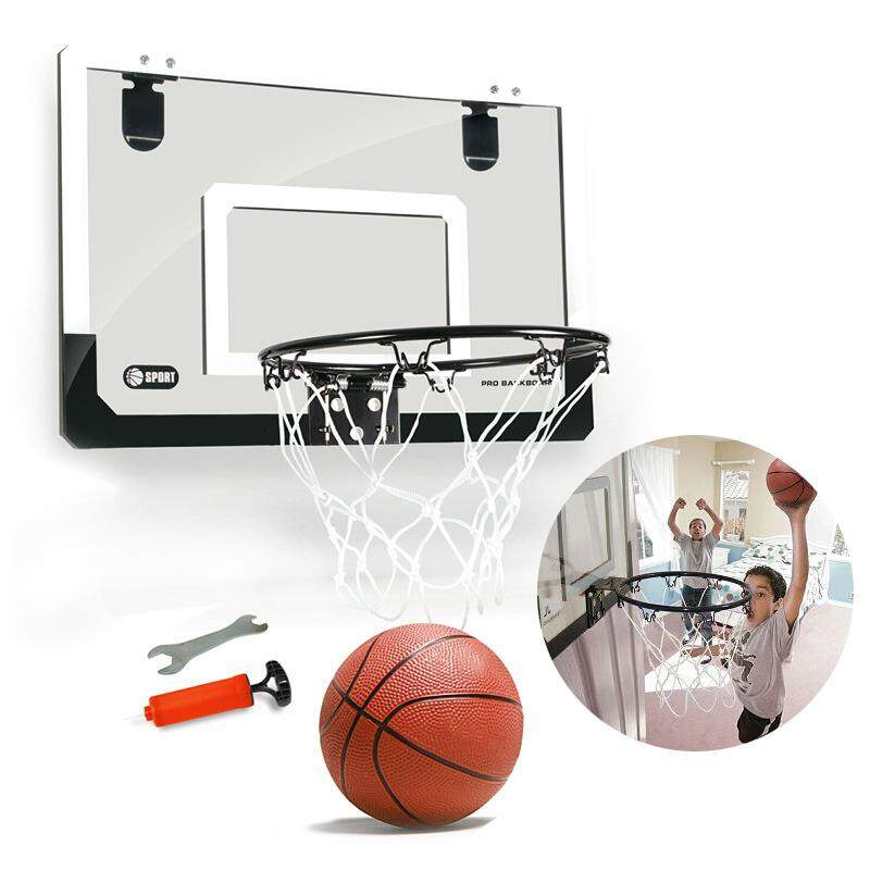 Mini Basketball Hoop With Ball 18 Inch X12 Inch Shatterproof Backboard By Superbuy888.