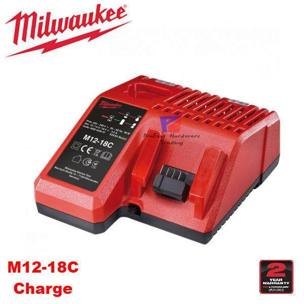 Milwaukee M12-18C (M12&M18) Multi-Platform Lithium-Ion Battery Charger Only