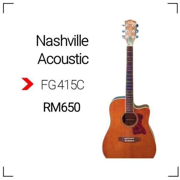 Nashville Acoustic FG-415C Malaysia