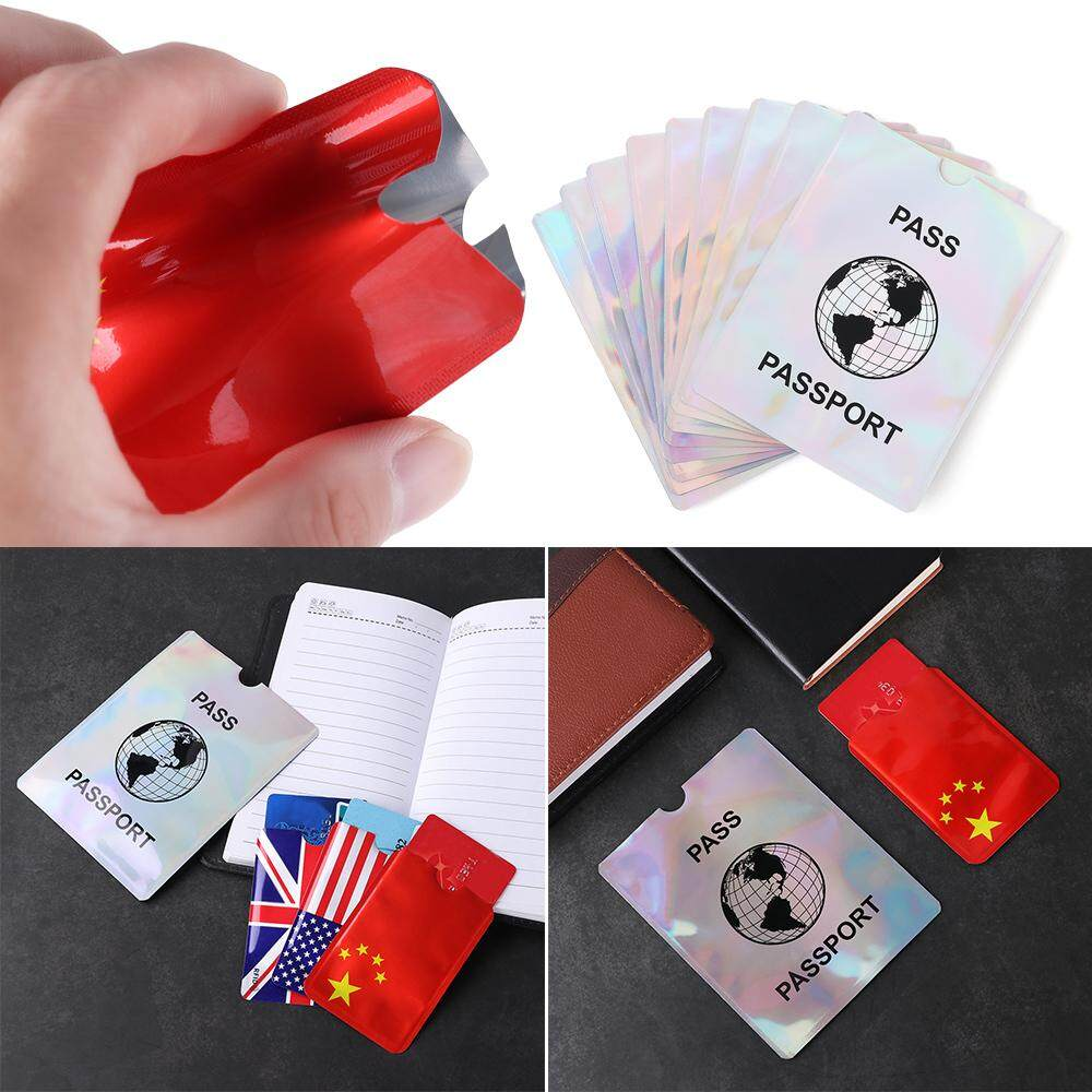 5/10 pcs Smart NFC Holder Credit Cards Protect Case Cover Card Holder ID Bank Card Case RFID Blocking Anti Rfid Wallet