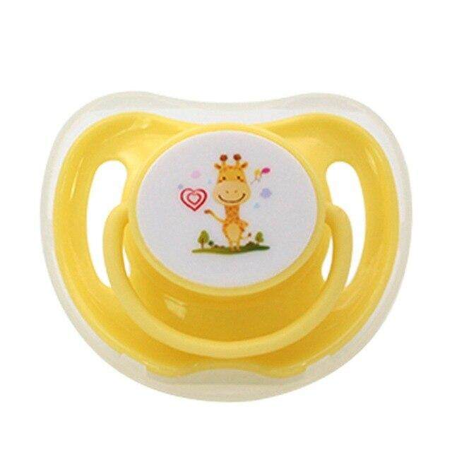 1 Pcs Food Grade Silicone Baby Pacifiers Soother Infant Dummy Nipple Teat Toddler Silicone Soothers Newborn Pacifier