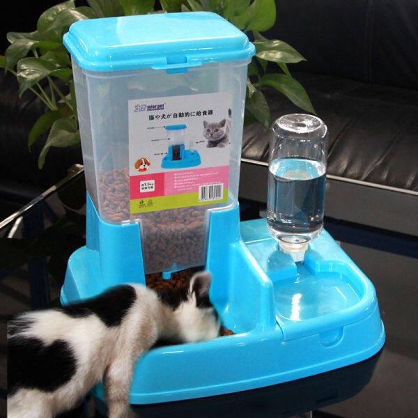【Giảm Giá 80% 】 Máy Cấp Nước Cho Chó Và Mèo Máy Cấp Nước Tự Động Cho Chó Teddy Bát Bát Đôi Bát Sản Phẩm Thú Cưng Chung Cho Chó Lớn Và Nhỏ