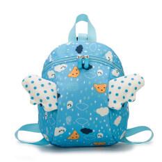 Bé chống mất Ba lô trẻ em túi bé gái mẫu giáo túi đi học lớp nhỏ trẻ em dễ thương 1-3 tuổi 2 vai bé