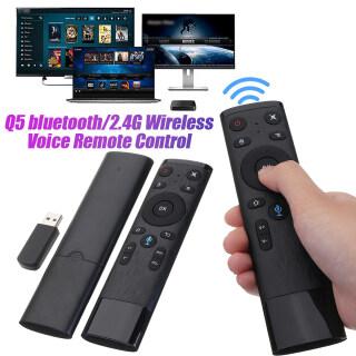 Chuột Không Dây Điều Khiển Từ Xa Bluetooth 2.4G Q5, Với Receiver USB Dành Cho TV Thông Minh Android Box thumbnail