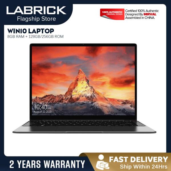 【TOP1】LABRICK T5 Portable Laptop Windows 10 J4355 14 Inch 8GB RAM 128GB 256GB ROM SSD Computer Gaming Notebook Malaysia