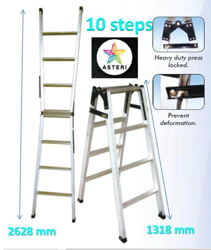 10 Steps Two Way Ladder - TW 5