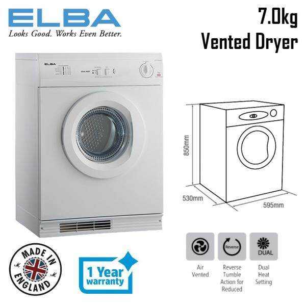 [Made In England] Elba 7.0kg Tumble Dryer ED-F7209(WH)