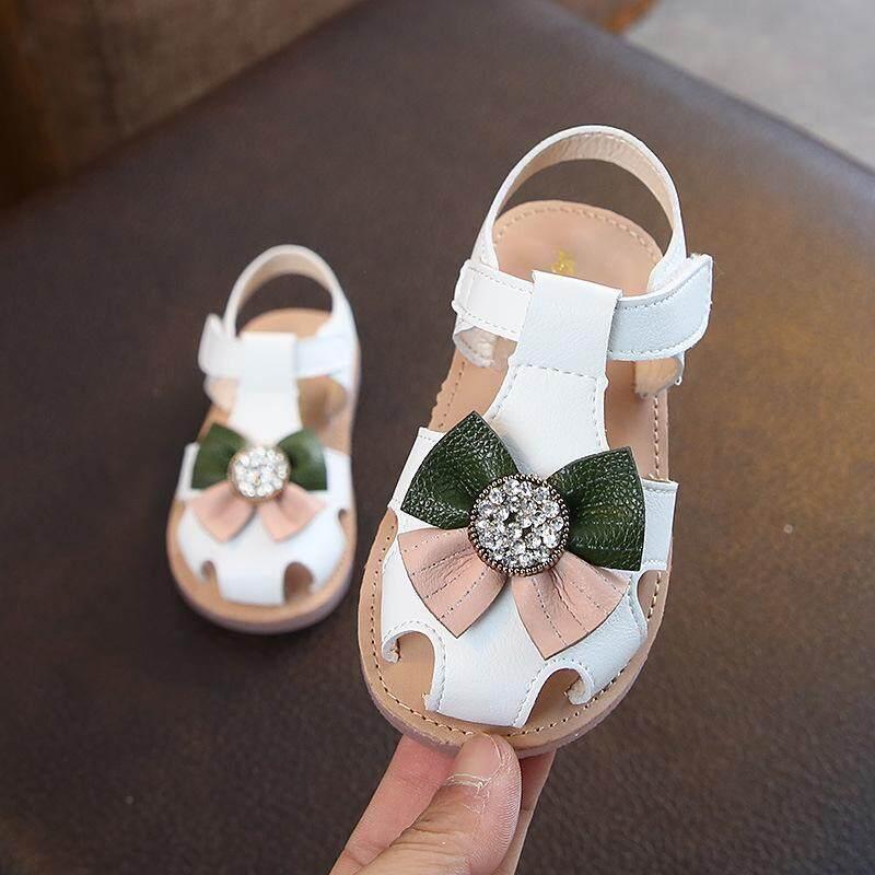 Giá bán Sẵn sàng Cổ Size 21-30 Giầy Trẻ Em dành cho bé từ 0-5 Tuổi Hàn Quốc Phong Cách Giày Xăng Dành Cho Bé Gái