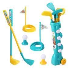 1 Bộ Gậy Đánh Golf Cho Trẻ Em Đồ Chơi Chơi Golf Có Giỏ Golf Bóng Golf Đồ Chơi Tập Thể Dục Ngoài Trời Giáo Dục Sớm