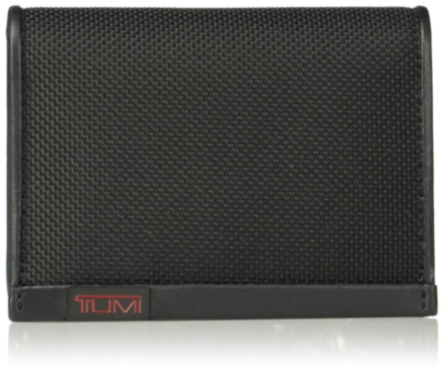 Tumi Men's Alpha Id Lock Gusseted Card Case Wallet
