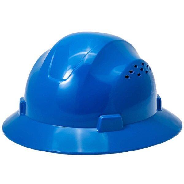 Full Brim Hard Hat Summer Sunshade Breathable Safety Helmet Lightweight High Strength Work Cap Construction Railway Metallurgy