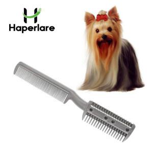 Haperlatre [Còn Hàng] Lược Chải Lông Thú Cưng Kéo Cắt Tỉa Làm Tóc Cho Chó Mèo Lưỡi Cạo Lông Công Cụ Cắt, Con Chó Cắt Lược Chải Lược thumbnail