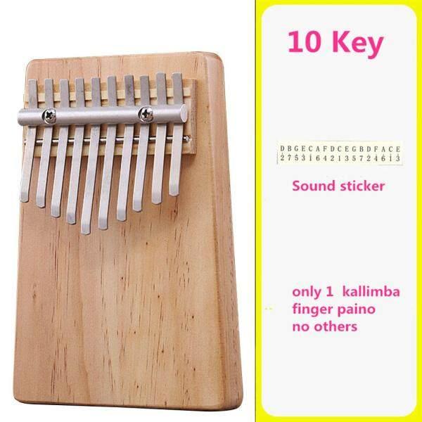Đàn kalimba giá rẻ đàn kalimba Đàn kalimba 10 phím bấm cho trẻ em người lớn nhạc cụ gõ bàn phím ngón tay Kalimba gỗ