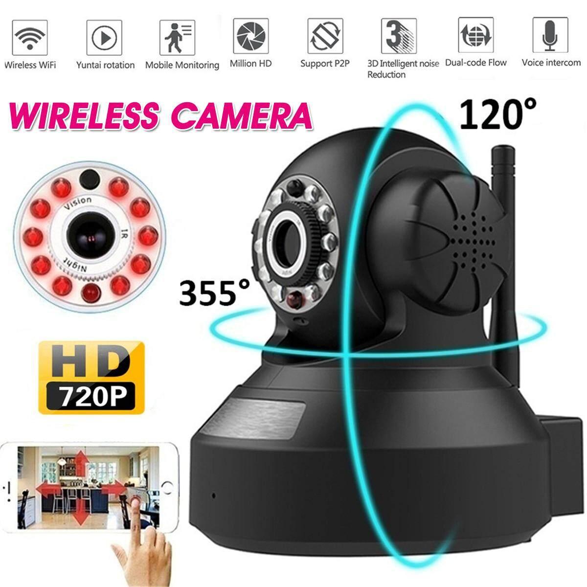 720 P Camera Không Dây Hồng Ngoại Quan Sát Ban Đêm Thoại Liên Lạc Nội Bộ Màn Hình-Phích Cắm ChÂu Âu By Autoleader.
