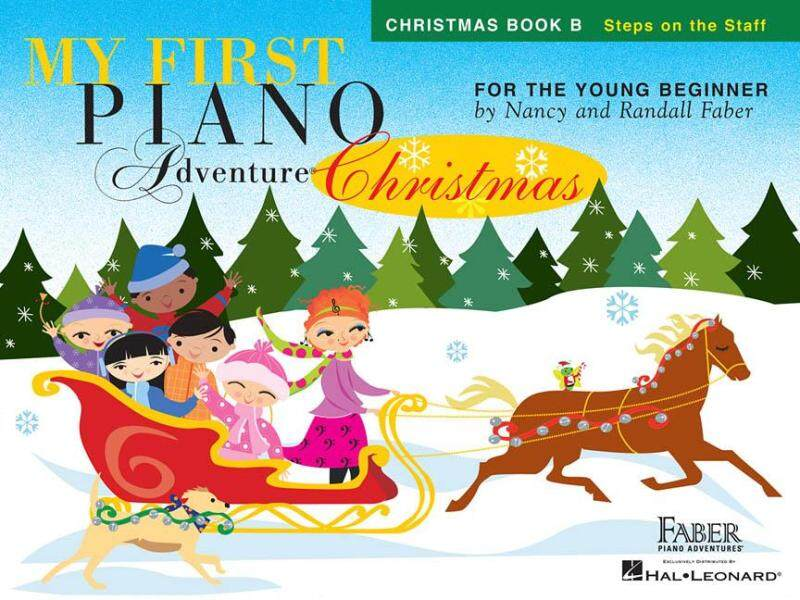 MY FIRST PIANO ADVENTURE® CHRISTMAS – BOOK B Steps on the Staff Malaysia