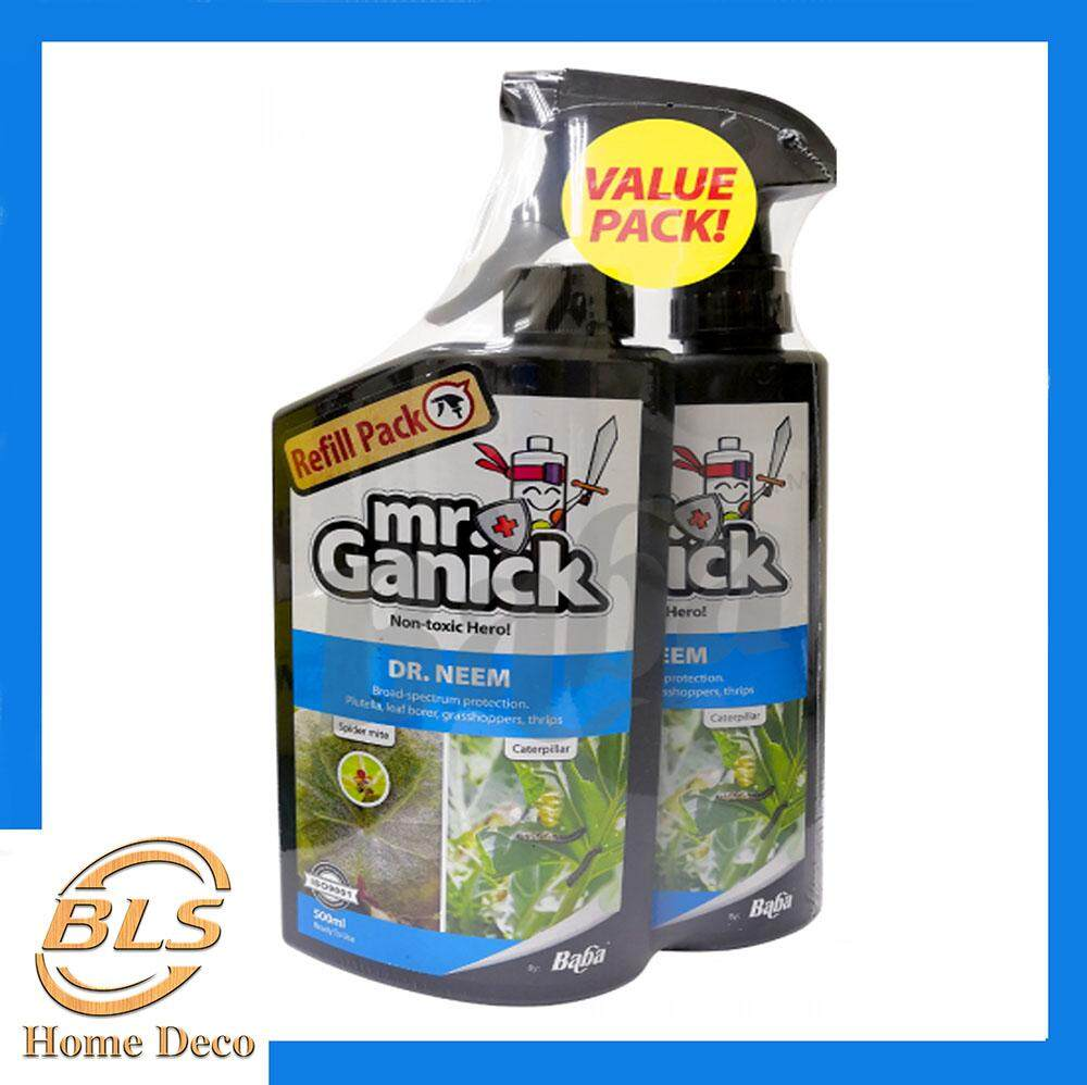 BABA MR.GANICK DR NEEM VALUE PACK 2 X 500ml PESTICIDE [NON-TOXIC]