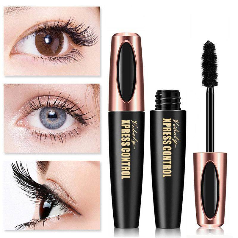 Mascaras 4D Waterproof Thick Lengthening Curling Long Lasting Eyelash Cosmetics