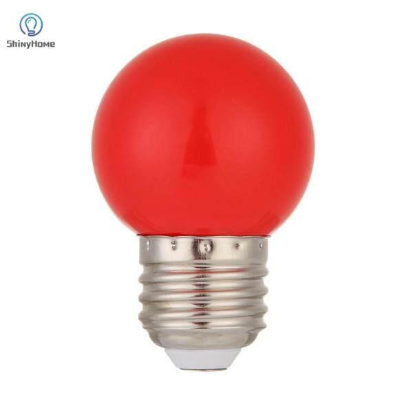 Bóng Đèn LED E27 5W SMD 2835, Đèn Lồng Tiết Kiệm Năng Lượng Chiếu Sáng Sân Cửa Hàng Đèn Đỏ
