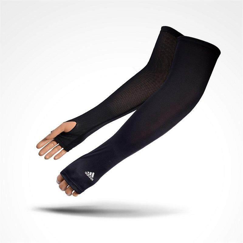 49801898 Adidas 3Stripe Mesh Cool Arm Cover UV Protection Arm Cover 2 Color  White(CJ5537)/Black(CJ5538)