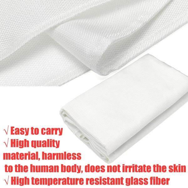 Welding Blanket | 4 x 6 Flame Retardant Fiberglass Safety Shield Grommets