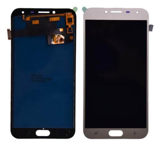 LCD Layar Pendigit untuk Samsung Galaxy J4 J400F Layar LCD Lengkap Panel Layar Sentuh Digitizer Perbaikan Parts 5.5 Inci