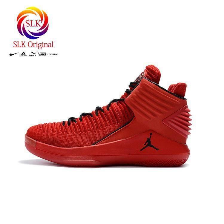 SLK Original ★ Ready Stock Nike Air Jordan 32 basketball shoes red men sneakers 2017 new 40-46