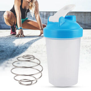 Chai Lắc 400ML Chai Nhựa Protein, Tập Thể Dục Nước Ấm Đun Nước, Cup Thể Thao Không Có BPA thumbnail