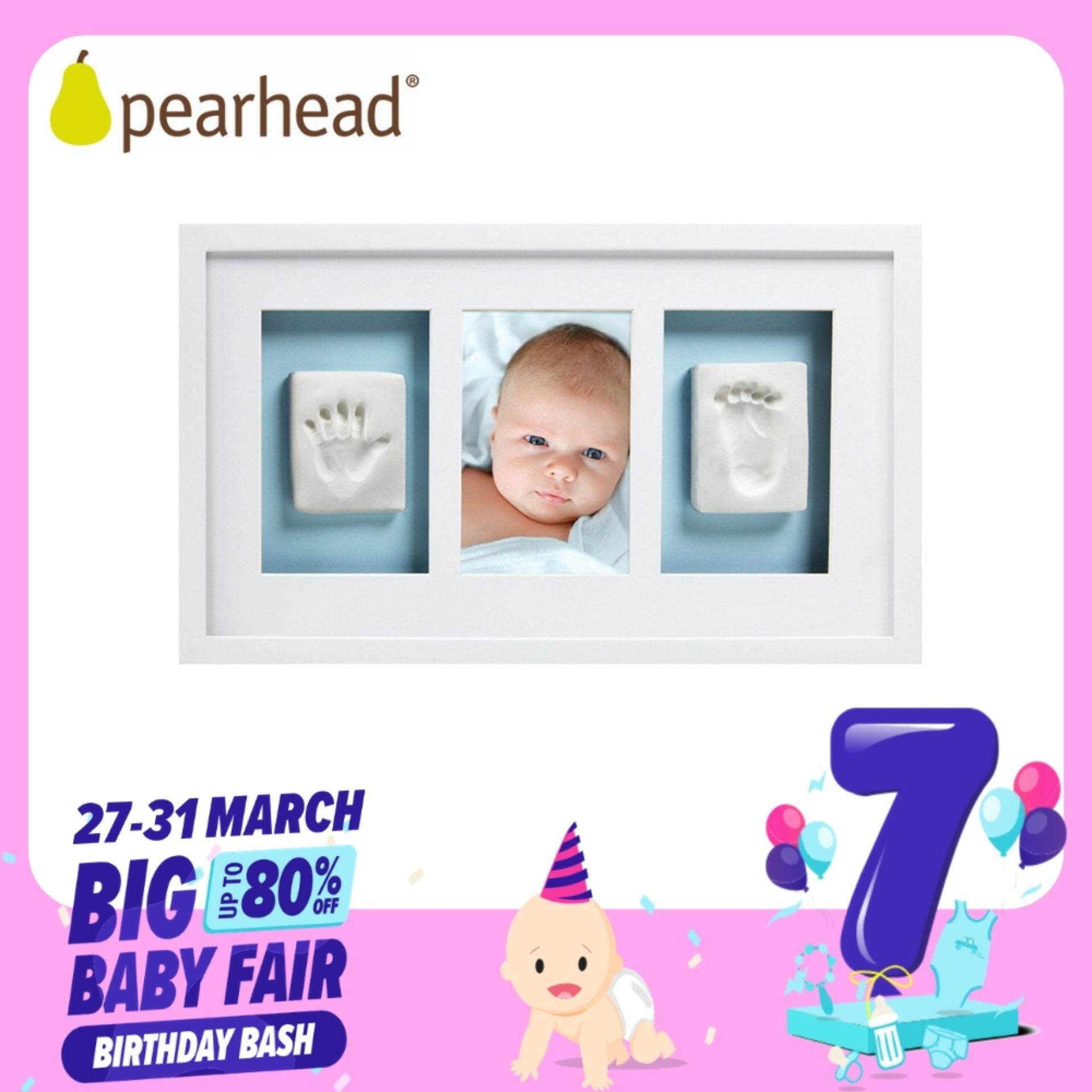 Pearhead Deluxe Wall Frame (triple Frames) White By Berry&blossoms.
