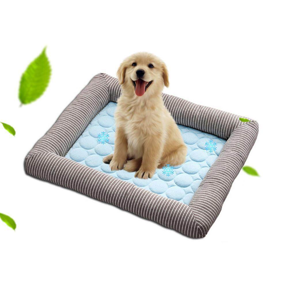 Outflety Dog Cooling Bed Dog Cooling Pad Summer Sleeping Non-Toxic Breathable Washable Pet Cooling Mat For Small/ Medium Dog By Outflety.